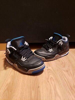 Nike Air Jordan 4 IV Alternate Motorsport Black GS Grade School 6 408452-006