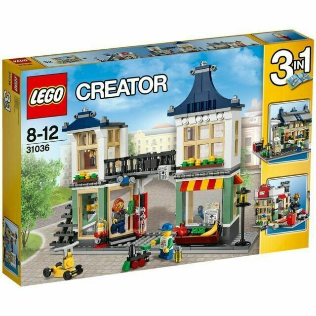 #31036 NEW LEGO Creator Toy /& Grocery Shop Retired 2015 Rare
