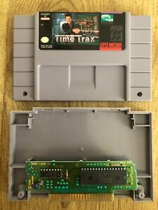 Time-Trax-Snes-Super-Nintendo-Game-Only-AUTHENTIC