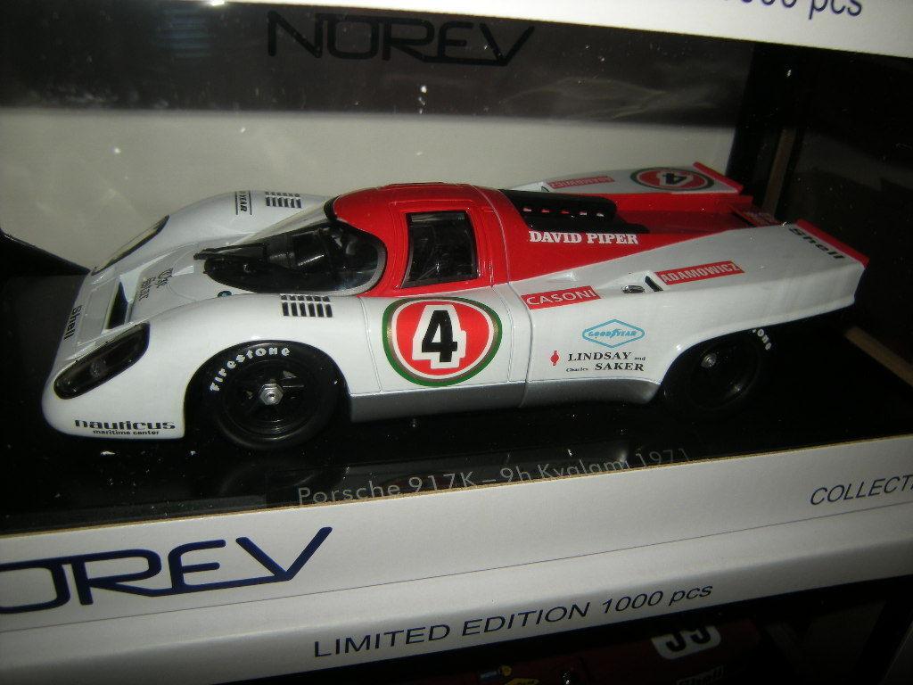 1 18 Norev Porsche 917K 9h Kyalami 1971  4 Limited Edition 1 of 1000 pcs. in OVP  | Zu verkaufen