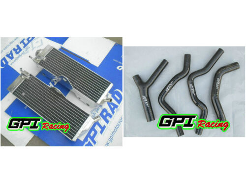 R/&L Aluminum radiator /&hose HONDA CR500 CR500R CR 500R 1985-1988 1986 1987 88 87