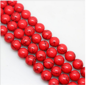 15-034-4mm-6mm-8mm-10mm-12mm-Natural-Red-Turquoise-Gemstone-Stone-Spacer-Beads