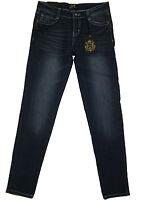 Karma Blue Jeans Girl's Sz 12 Skinny Fit Crystal Trim