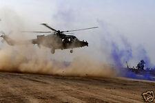 Army Air Corps Lynx Helicopter Camp Sa'ad Basra Iraq War, Photo 11x8 inch