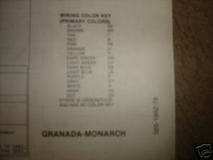 1978 ford granadamonarch wiring diagrams ebay image is loading 1978 ford granada monarch wiring diagrams publicscrutiny Image collections