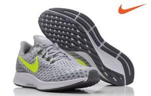 30991b4a516 Image is loading New-Nike-Air-Zoom-Pegasus-35-Gray-Volt-