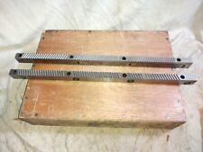 2 Broach Keyway Cutters 20 Long For Broach Keyway Slotting Machines