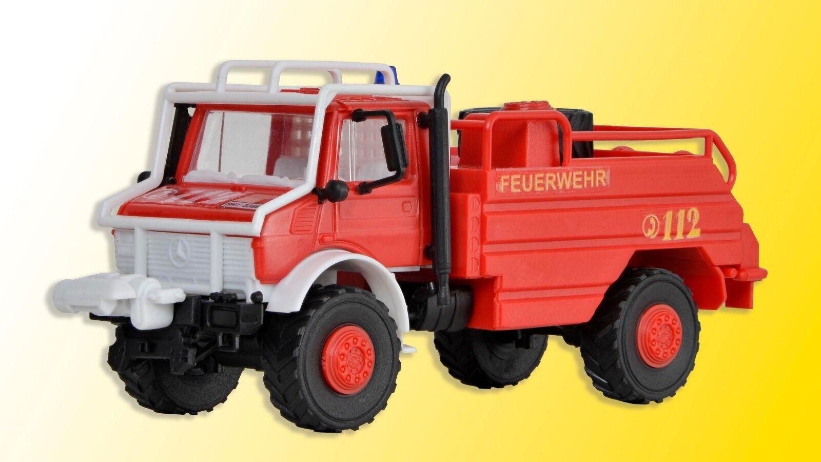 Kibri 18270 Spur H0, Feuerwehr UNIMOG Waldbrandlöschfahrzeug  Neu in OVP