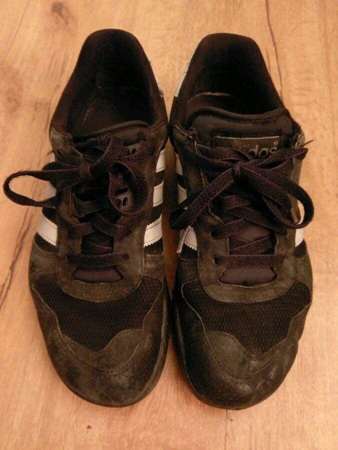 Billig hohe Qualität Adidas Marathon Trainer schwarz 42