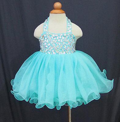 Flower Girl toddler//baby//children//kids Cupcake Pageant Dress Birthday Custom