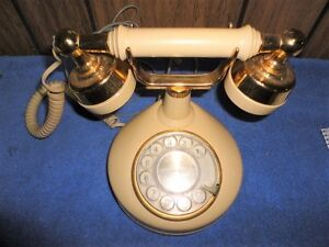 Vintage Western Electric Victorian French Style Princess Rotary Telephone~WORKS