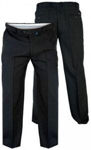 Hombre-Duke-MAX-Grande-Tamano-King-Size-Pantalones-xtenda-CINTURA-AJUSTABLE