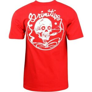 Primitive Men Grateful Tee red