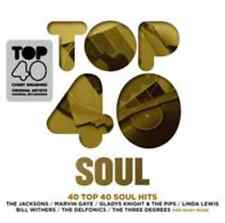 Various Artists-Top 40 Soul CD NEW