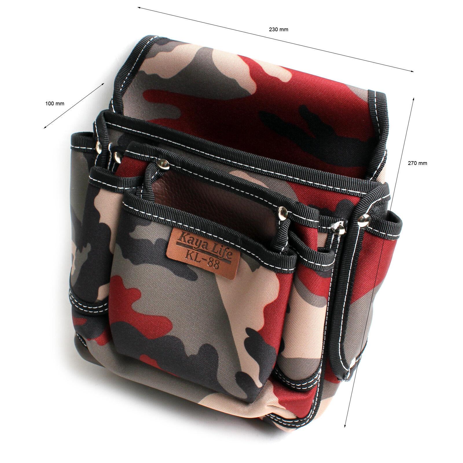 Tool Bag Pouch for Screws Nails Hammer Tool Belt Holder Polyester KL-88 KOREA