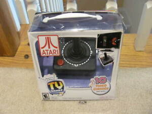 Atari RETRO Plug & Play TV Classic Games 10-in-1 Video Game Console Jakks NEW