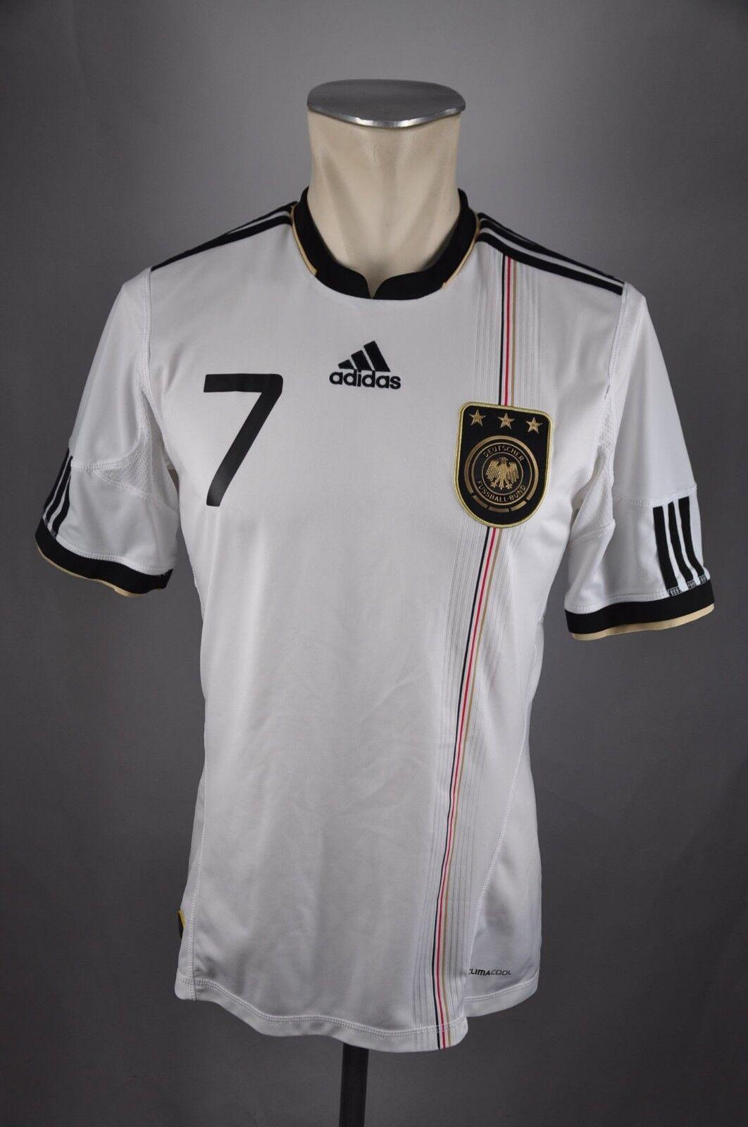 Deutschland DFB Schweinsteiger Home Trikot S Adidas 2010 WM Shirt Germany