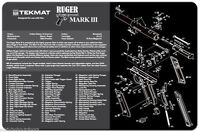 Ruger Mark Iii Armorers Gun Cleaning Bench Mat Exploded View Schematic