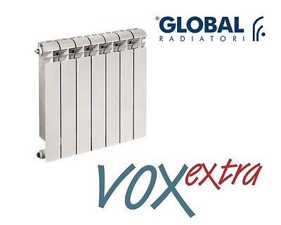 TERMOSIFONE Radiatore 3 ELEMENTI In ALLUMINIO GLOBAL Interasse 500 600 700 800