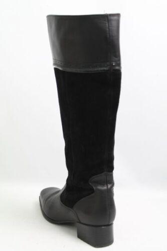 Choizz botas negro nubukleder talla 38 (UK 5)
