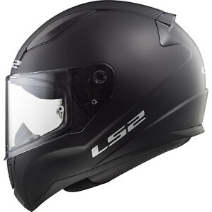 47-48cm Black S LS2 FF353 RAPID MINI Kids Motorcycle Motorbike Full Face Helmet