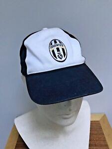 b7c462837f5 Nike Juventus JUVE Legacy 91 BLACK   WHITE Soccer Strapback Youth ...