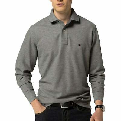 BNWT Tommy Hilfiger Long Sleeve Polo Navy