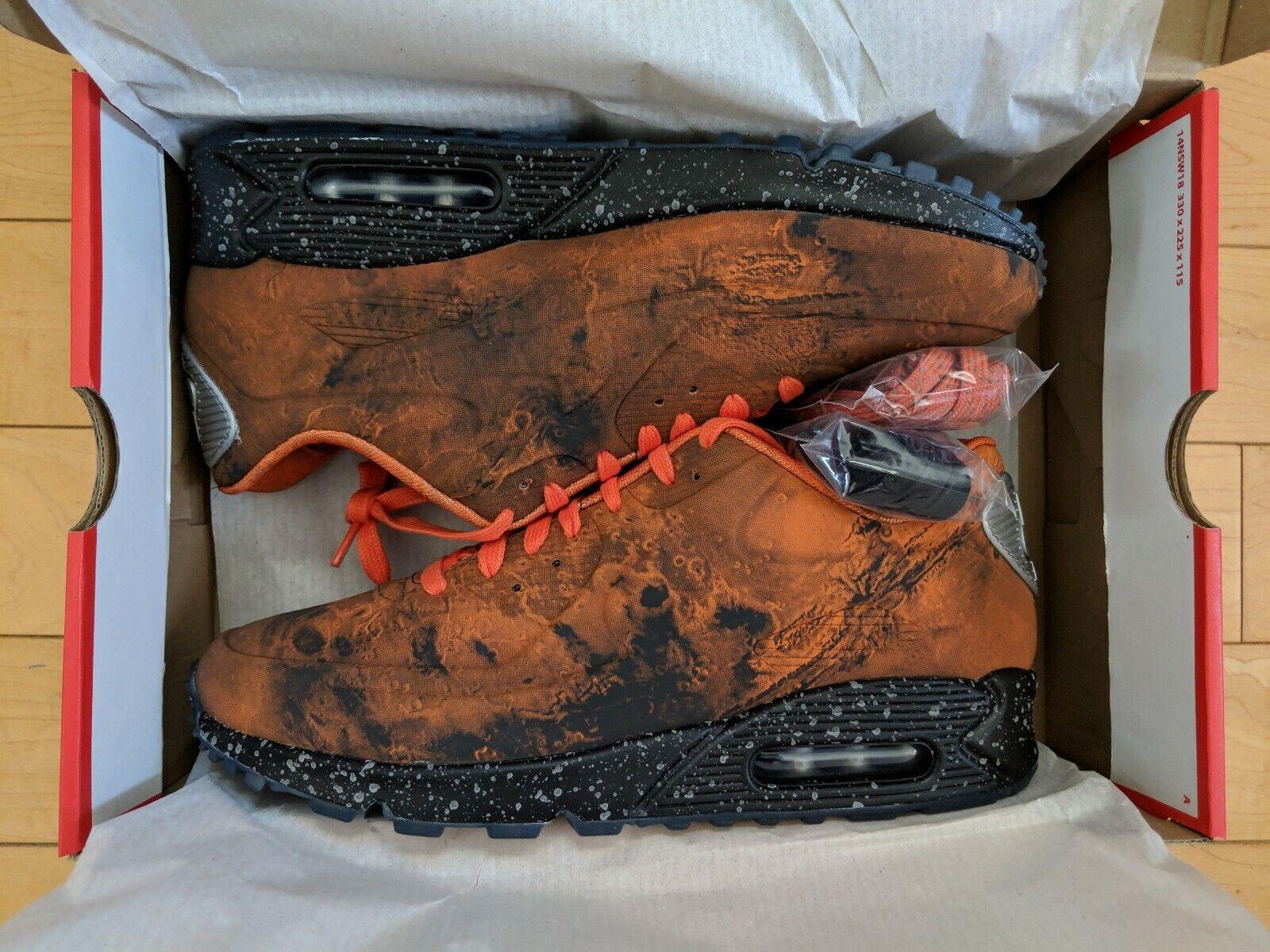 57d8a23bca4 Nike Air 90 Mars Landing - Size 10 - orange 3M Reflective - NEW Sneaker Max  nomwoe5435-Athletic Shoes