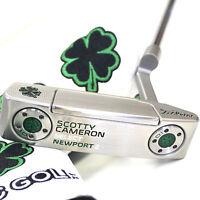 Custom 2016 Scotty Cameron Putter 2016 Newport2 Series Lucky Clover Edition