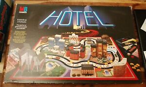 VINTAGE-HOTEL-GAME-NOT-COMPLETE-SPARES-ONLY-MB-GAMES-1986-LOVELY-CONDITION