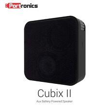 Portronics Cubix II Portable Aux speaker (POR-512) Black