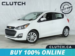 2019 Chevrolet Spark LT w/ Apple CarPlay, Rearview Cam, Alloys