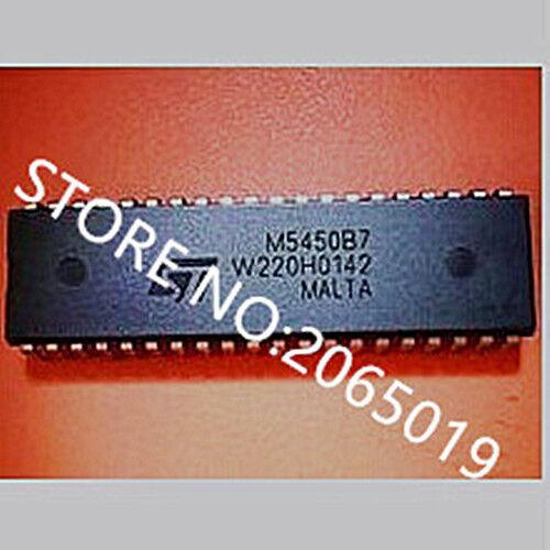 2PCS  M5450B7  M5450  DIP-40  Display driver chip IC