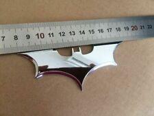 Chrome Metal Batman Dark Knight Mask Car Motorcycle Emblems Badge Decal Sticker