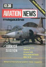 AVIATION NEWS V17 N15 PILATUS BRITTEN-NORMAN DEFENDER_THK TURKISH AF F-104 F-4 R