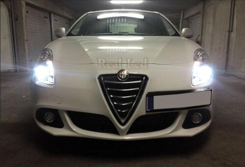 Alfa Romeo Giulietta 2010-2016 Pair Bulbs H7 LED Headlight Low Beam 6500K White
