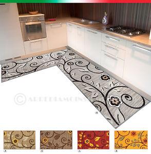 image is loading tappeto cucina angolare o passatoia su misura moderno