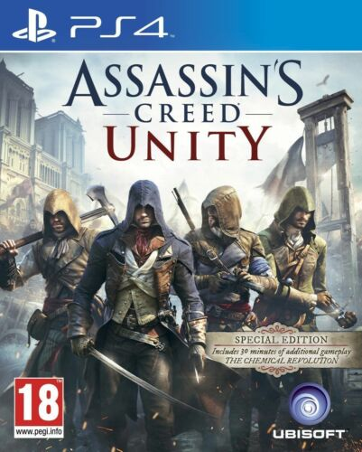 1 of 1 - Assassin's Creed: Unity -- Special Edition (Sony PlayStation 4, 2014)