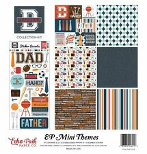 "ECHO PARK ""TEAM DAD"" 12X12 PAPER KIT FATHERS DAY FAMILY MEN SCRAPJACK'S PLACE"