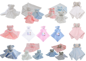 Newborn-Soft-Baby-Teddy-Bear-Puppet-Toy-Gift-Snuggle-Baby-Comforter-Blanket-New