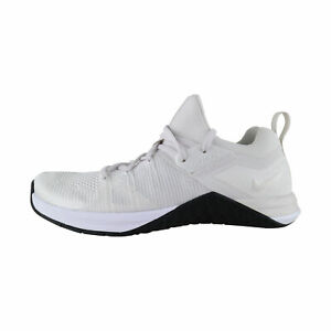 Dettagli su Nike Metcon Flyknit 3 Donne BiancoNero AR5623 100