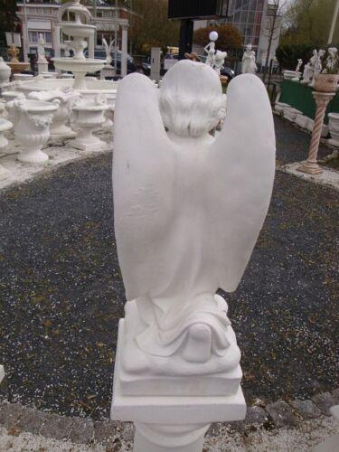 Engel Angelo Höhe 54 cm Statue Figur  Gartendekorationen Marmor Betonwerkstein