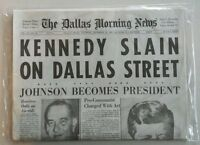 COMPLETE Dallas Morning News Newspaper 11/23/63 JFK Kennedy Assassination-Reprnt