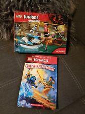 NEW /& SEALED Share Lego 10755 Juniors Ninjago Zane/'s Ninja Boat Pursuit 131pcs