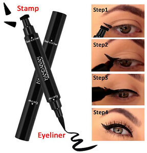 AU-Winged-Waterproof-Black-Liquid-Cat-Wing-eye-Ink-Liner-Eyeliner-Stamp-Makeup