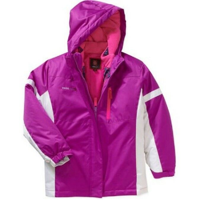 Swiss Tech Girls Orchid 3 en 1 Systems Tamaño de chaqueta 14-16 XL