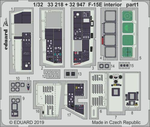 EDUARD ZOOM 33218 Interior for Tamiya Kit F-15E in 1:32