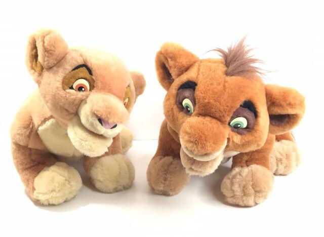 Disney The Lion King Simbas Pride Interactive Talk N Sing Kiara Kovu Plush S3