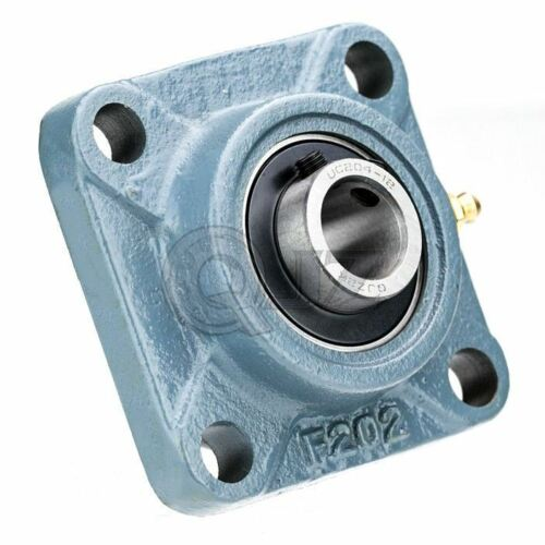 2x 1.75 in Square Flange Units Cast Iron UCF209-28 Mounted Bearing UC209-28+F209
