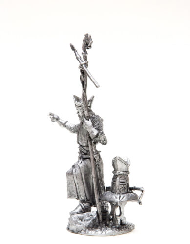 54mm miniature Crusades The Bishop of the Teutonic Knights 1:32 Scale